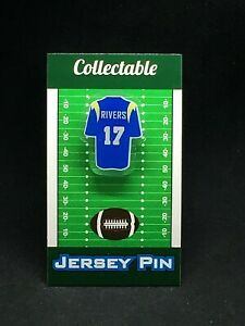 Los Angeles Chargers Philip Rivers jersey lapel pin-Classic team Collectable