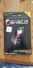 Zagg Invisible Shield Screen Protector HTC Incredible 4G LTE NEW