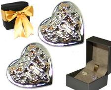 Clogau Silver & 9ct Welsh Rose Gold Kensington Stud Earrings Sale rrp £109