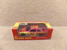 New 1996 Revell 1:24 Diecast NASCAR Mike McLaughlin Autographed Royal Oak #34