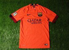 1f5b0a4871 Barcelona Barca Espanha 2014 2015 Futebol Camisa Jersey Away Nike Original  Tamanho P