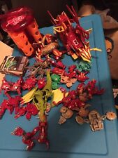 Large Bakugan Lot Cards Case Etc