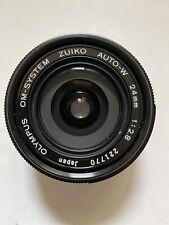 Olympus OM-System Zuiko 24mm f2.8 Auto-W