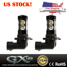 US Hi-Power Yellow Bright Bulbs 9005 Car Parts LED Fog Light H10 CANBus HB3 9145