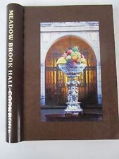 Meadow Brook Hall Cook book Spiral Bound Cookbook