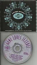GENE LOVES JEZEBEL Break the chain  w/ RARE EDIT RADIO PROMO DJ CD Single 1993