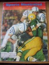 16/12/1968 Sports Illustrated Magazine:  Vol 29 - No 25 - (Cover Content) Baltim
