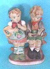 Vintage Handpainted Royal China Figurine of Girl & Boy - Made in Japan