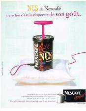 PUBLICITE ADVERTISING  2005   NESCAFE  NES  OPEN UP café