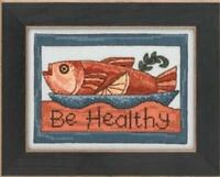 MILL HILL STICKS Counted Cross Stitch Kit - BE HEALTHY - ST30-3104
