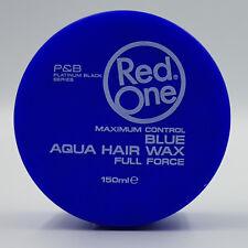 RedOne Aqua Hair Wax Gel Full Force 150 ml -blue