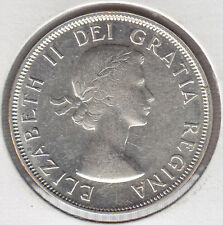 1955 Canadian Fifty Cents - Nice Uncirculated example