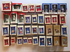 Lot of 36 Hallmark Keepsake Ornaments 2002-2005 Magic Singles Membership Series