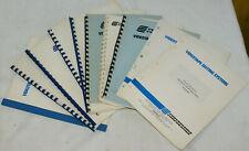 Convergence Corporation: 10 Stück Handbücher Manuals Konvolut