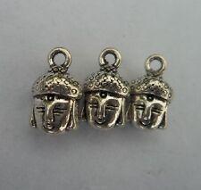 10 pcs Tibetan silver Buddha charms pendant  14x8x7 mm