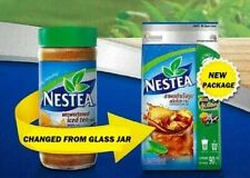 NESTLE NESTEA UNSWEETENED ICED TEA MIX For brew drink new package 90g