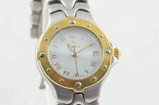 Ebel Sportwave Quartz Women's Watch Steel/Gold 28mm Top Condition 6087621