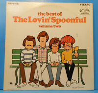 THE BEST OF THE LOVIN' SPOONFUL VOL 2 LP 68 ORIGINAL GREAT CONDITION! VG+/VG+!!B