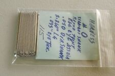 ~~LEATHER CRAFT~~VINTAGE~NEW OLD STOCK HARNESS NEEDLES # 0 TOTAL  115  LOT 01