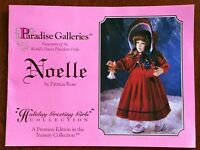 Musical Porcelain Doll Treasury Collection Paradise Galleries-NIB Vintage
