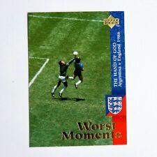 Diego Maradona Hand of God Mexico 1986 Upper Deck 1998 #59 Argentina Sports Card