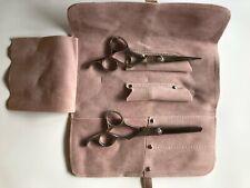 OLIVIA GARDEN Haarscheren SilkCut 2-er Set mit pinken Strasssteinen in Tasche
