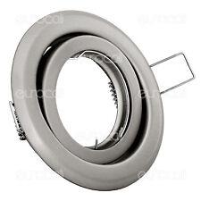 Kanlux Portafaretto orientabile Rotondo da incasso per Lampadine Gu10 e Gu5.3 AC
