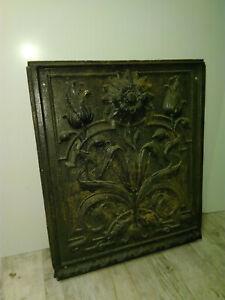 Ofenplatte, floral, 45x55cm