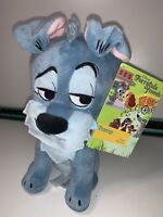 "Disney Store Furrytale Friends TRAMP Beanie 8"" Plush Lady & The Tramp BNWT"