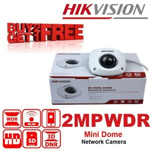 Hikvision DS-2CD2522FWD-I (4mm) 2MP WDR Mini Dome Network Camera