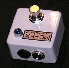 MC-FX Mini Footswitch with External Powered LED White