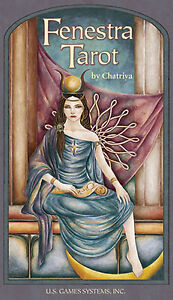 Fenestra Tarot NEW IN BOX 78 Cards and Booklet by US Games Chatriya
