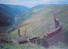 Old Railroad Trestle 2, Train picture in near Lewiston Idaho