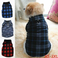 Haustier Hund Fleece Pullover Strickwaren Wintermantel Chihuahua Warme Kleidung