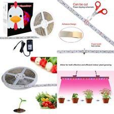 Led Pflanzenlampe, Sparke 5M Led Planzenlicht Strip Streifen Band Mit 12V 3A Net