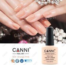 024 Canni Naranja Rosa Crema UV Led Soak Off Gel Colores Nail Art 7.3ml Reino Unido Vendedor