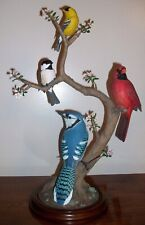 "New ListingDanbury Mint 2001 National Geographic ""Songbirds Of Spring"" Bird Figurine"