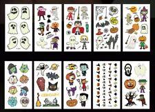 Halloween Luminous Tattoo Stickers Temporary Tattoos for kids Boys and Girls