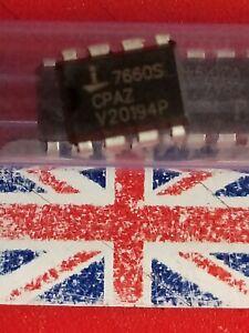 4 pcs ICL7660S CPAZ Intersil Voltage Converter 8-DIP