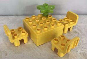 1x Lego Duplo Plant Yellow Flower Flower 6x6 4 Little Forest Friends 31218