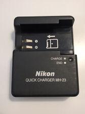 Nikon QUICK BATTERY CHARGER MH-23 MODEL ORIGINAL