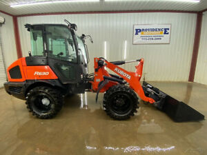 2017 KUBOTA R630 CAB ARTICULATING WHEEL LOADER WITH A/C AND HEAT