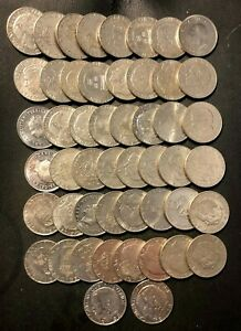 Vintage Sweden Coin Lot - KRONA - 50 COINS - Excellent Dealer Lot - Lot #L20