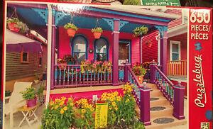 Puzzlebug 650 Piece Puzzle Pretty Purple Porch