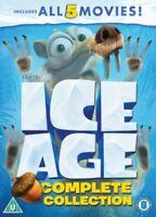 Ice Age - Complet Collection (5 Films) Neuf DVD Région 2