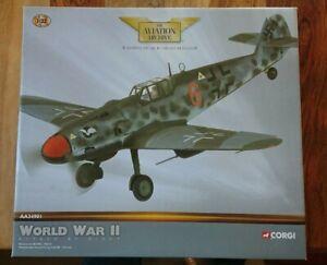 """Corgi AA34901 Messerschmitt Bf109G """"RED 6"""" Oberfeldwebel Arnold Doring II./JG300"""
