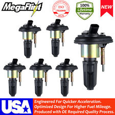New 6 Pack SAAB Chevy 2006 HUMMER H3 2005-2009 SAAB 9-7X  Ignition Coils