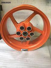 DUCATI   MONSTER S4R 2001 REAR WHEEL 17 X 5.50   GENUINE  LOT35  35D2025 - M639