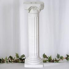 "4 Pillars/Set Roman Decorative Columns PVC Pillars 36"" Height (Adjustable)"