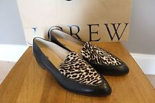 New J Crew Collection Calf Hair Loafers Sz 9.5 $288 E4811 Must Have
